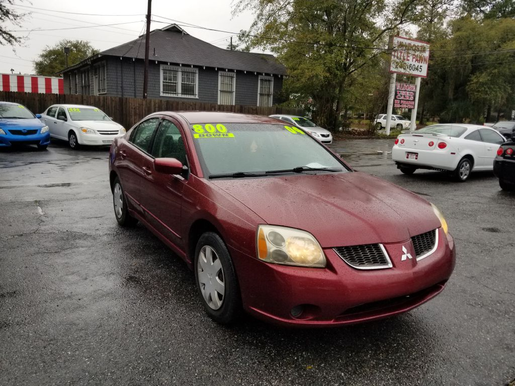2004 MITSUBISHI GALANT ES MEDIUM